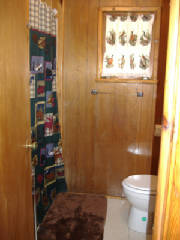 "Cabin 5 Bathroom with ""Up North"" Theme"